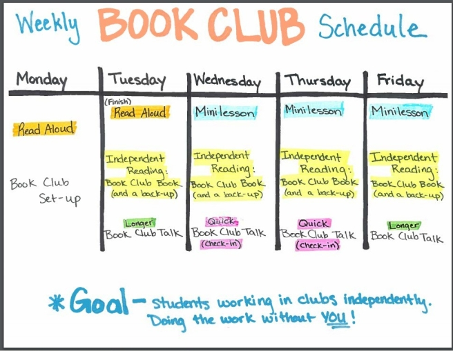 Book Club Schedule
